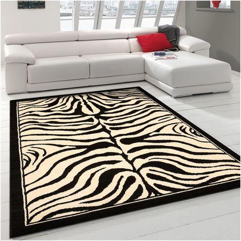 UN AMOUR DE TAPIS - tapis moderne Bc Zebre - tapis decoration - tapis salon tapis chambre
