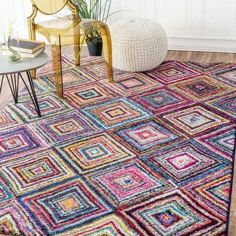 UN AMOUR DE TAPIS - tapis moderne Carre Boutik - tapis decoration - tapis salon tapis chambre