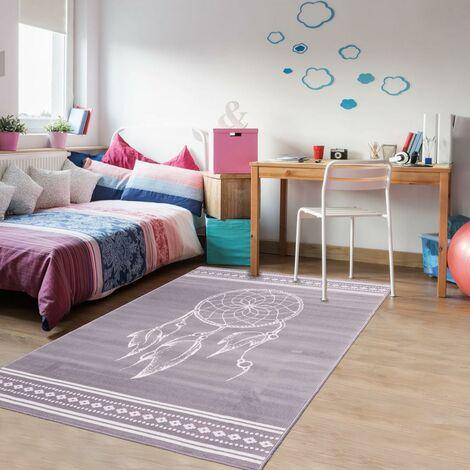 UN AMOUR DE TAPIS - tapis moderne ethnic Af Attrape Reve - tapis decoration - tapis salon tapis chambre