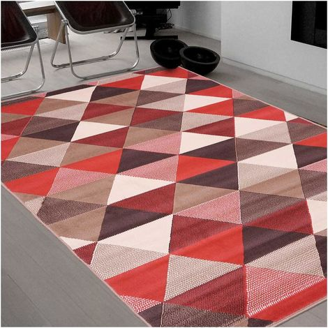 UN AMOUR DE TAPIS - tapis scandinave Bc Triangle - tapis decoration - tapis salon tapis chambre