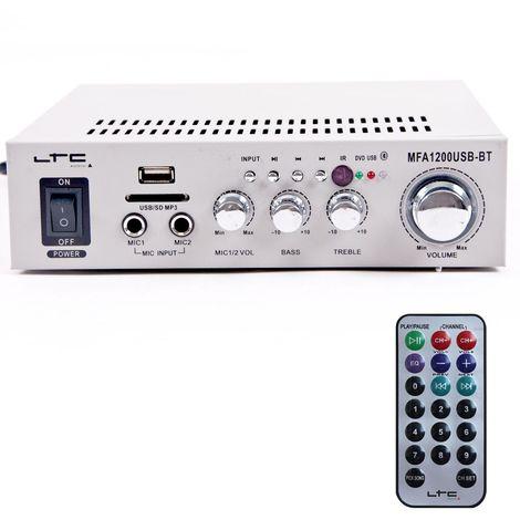 Un amplificateur karaoké de 100 watts avec MP3 et Bluetooth