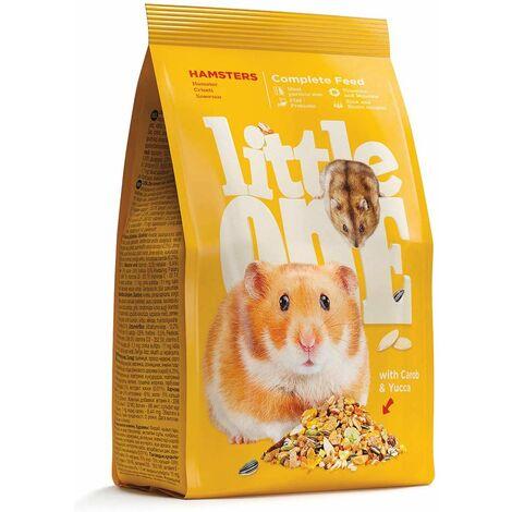 Un mélange de petits hamsters riches en vitamines