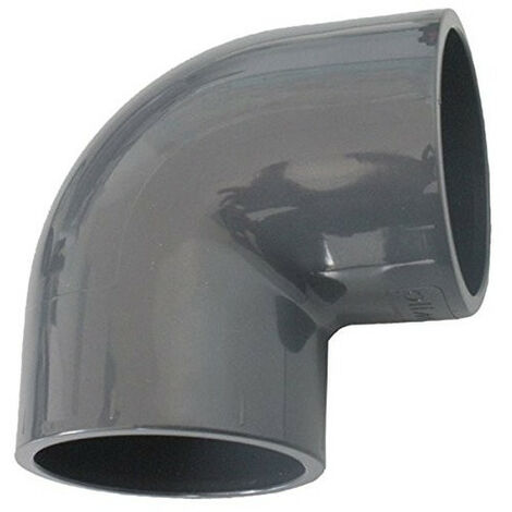 una curva de ø 32 mm, PVC pegado a presión