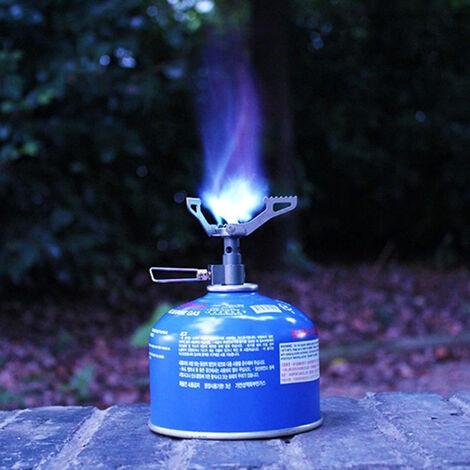 Una estufa de gas desde camping plegable, 2700 W