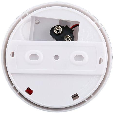Unabhangige Feueralarm-Sensor 85 dB Rauchmelder Brandmelder Tester Hauptsicherheitssystem fur Kuche Restaurant Hotel Cafe Smoke