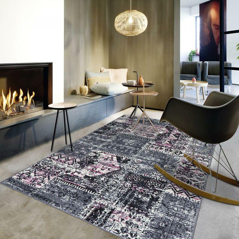 Unamourdetapis - Tapis de Salon tapis Moderne Design - BC PATCHWORK -  Polypropylène