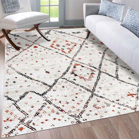 Unamourdetapis - Tapis de Salon tapis Moderne Design - Berber MOROCCO STYLE - Polypropylène