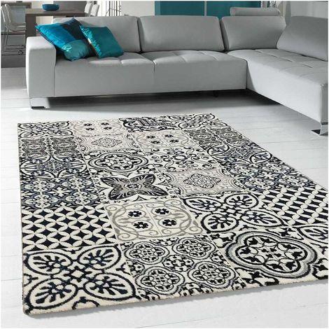 Unamourdetapis - Tapis de Salon tapis Moderne Design - CIMENTO CARO - Polypropylène