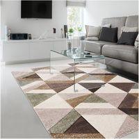 Unamourdetapis - Tapis de Salon tapis Moderne Design - SCANDINAVAGRIS - Polypropylène
