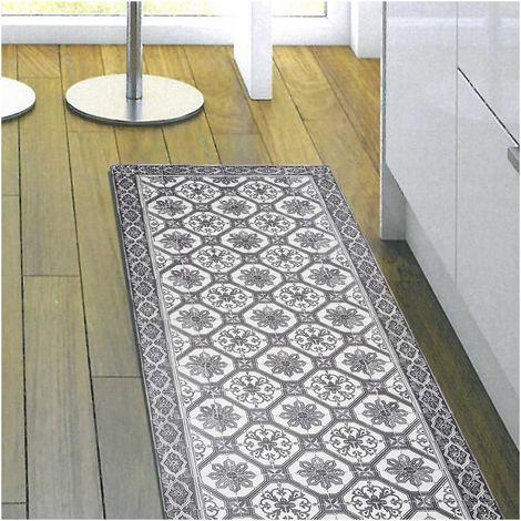 Unamourdetapis - Tapis de Salon tapis Moderne Design - VINYLE FARO - PVC Fabriqué en Europe