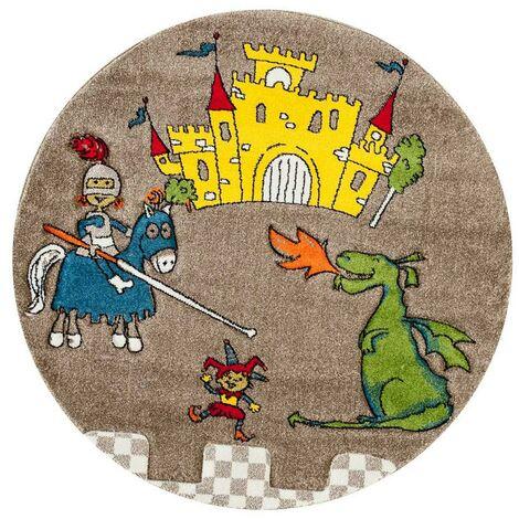 Unamourdetapis - Tapis pour enfants chambre - Dragon - Polypropylène