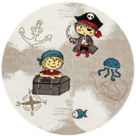 Unamourdetapis - Tapis pour enfants chambre - Pirate - Polypropylène