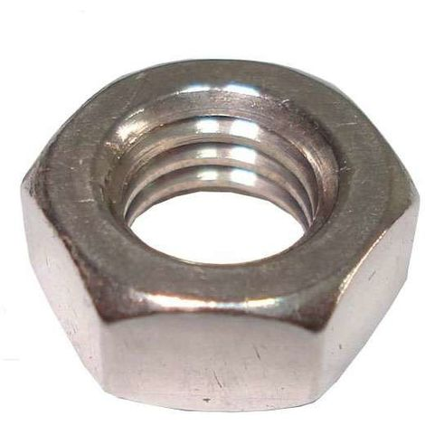 UNC Hexagon full nut 1/2 inch -13 A2 Stainless Steel