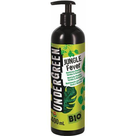 UNDERGREEN Jungle Fever - Nutrición Plantas Verdes & Bonsáis 400 ml - Verde