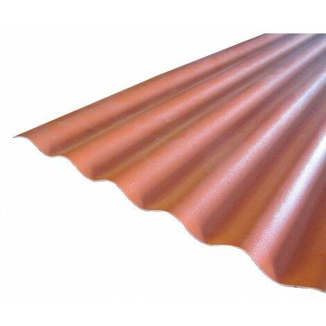 Undurchsichtiges PVC-Wellblech (PO 76/18 - kleine Wellen)
