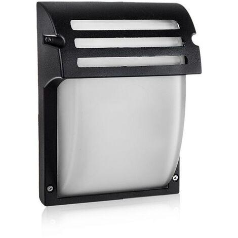 Une applique en aluminium et verre pour l'espace extérieur