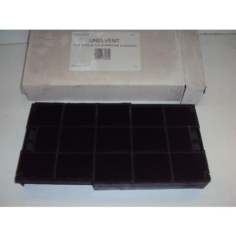 UNE883169 : Filtre cassette charbon groupe gl UNELVENT ref 883169