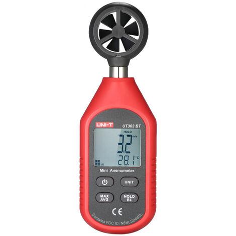 UNI-T, Mini anemometro digital LCD Medidor de velocidad del viento(no se puede enviar a Baleares)