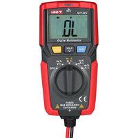 Uni-T Mini Multimetre Numerique Dc / Ac Tension Courantometre Ncv Resistance Capacitance Diode Tester Voltmetre Amperemetre