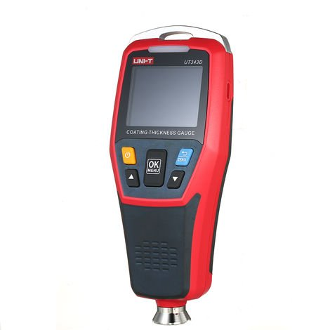 UNI-T UT343D Digital Coating Gauge Meter Thickness Tester with USB Data Function