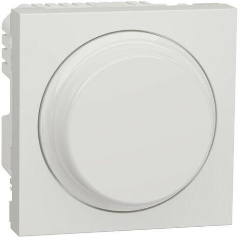 Unica - variateur rotatif universel - Blanc antimicrobien - méca seul (NU351420)