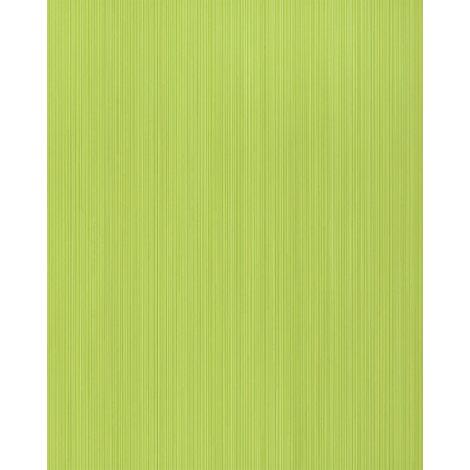 Unicolour-wallpaper wall EDEM 598-25 blown vinyl wallpaper textured with stripes matt green yellow-green sulfur-yellow 5.33 m2 (57 ft2)