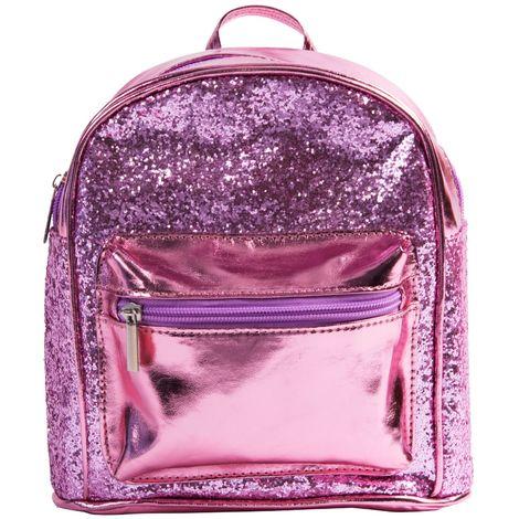 Unicorn Magic Pink Glitter Rucksack