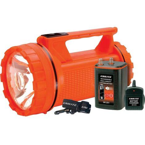 Unilite Hi-vis 200 Lumen Led RECHARGE. Lantern Kit