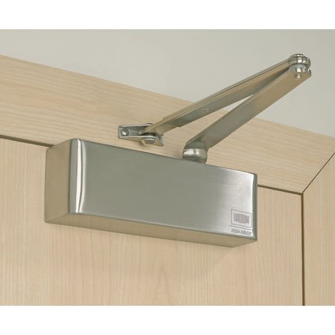 Union J-N8824-SIL Door Closer c/w Back Check Size 2-4 CE