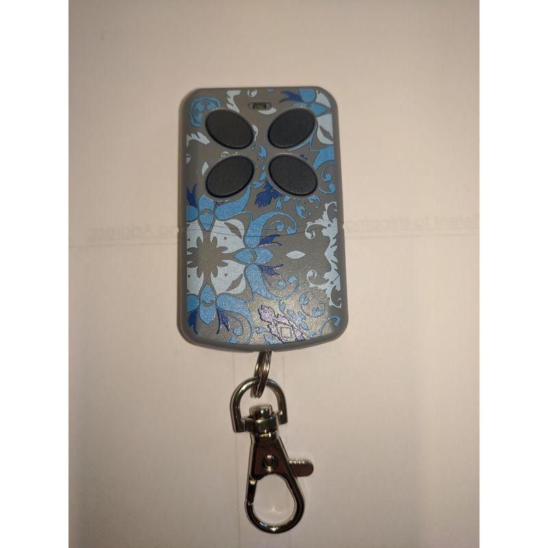 Image of Ocean Blue Design Remote - Artmatic