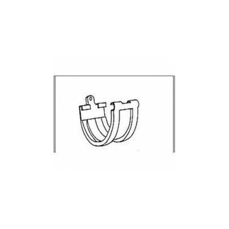 UNION P/CANALON PVC COLOR COBRE G-125