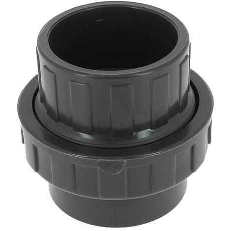 Union PVC pression femelle-femelle Ø75