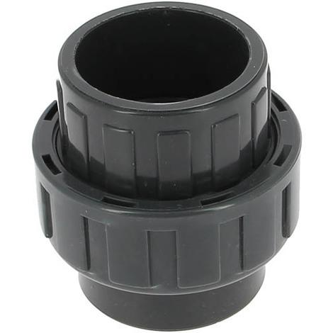 Union PVC pression femelle-femelle O50
