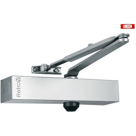 UNION REPLACEMENT DOOR CLOSER J-RETROV-SIL