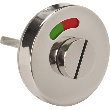 Union Stainless Steel Bathroom Toilet Lock Emergency Indicator Green and Red