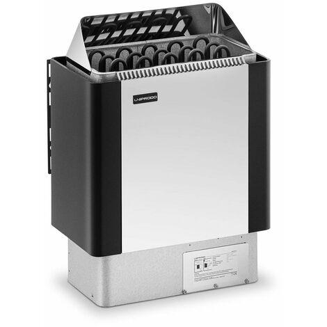 Uniprodo Horno De Sauna Con Panel De Control Calefactor 8 kW De 30 a 110 °C