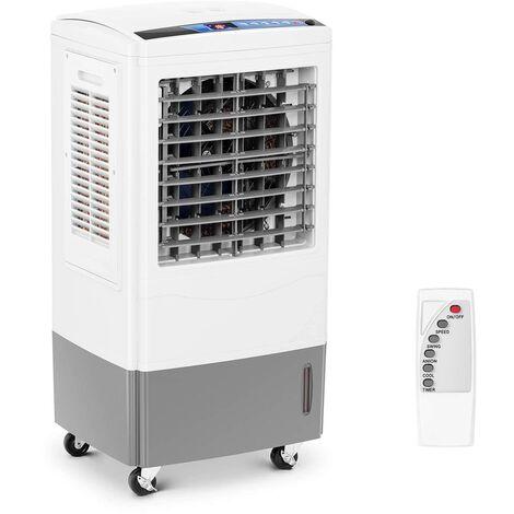Uniprodo Refroidisseur d'air portatif ventilateur 100W 25L Télécommande Minuterie 24h