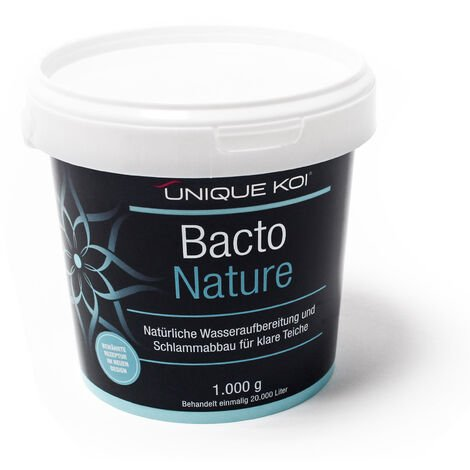 Unique Koi Bacto Nature 1000 g pour 20000 l d´eau du bassin