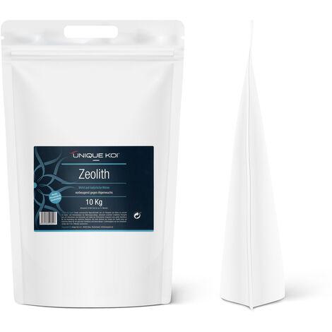 Unique Koi Zeolita 10kg granulado 9-16mm Medios filtrantes para estanques Aglutinante de fosfato
