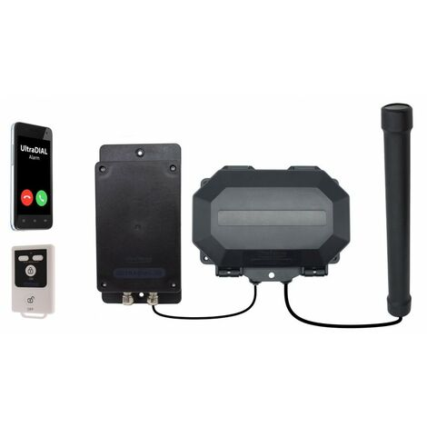 Unique Vehicle Detecting Battery Powered GSM Driveway Alarm - Protect 800 for Remote Locations