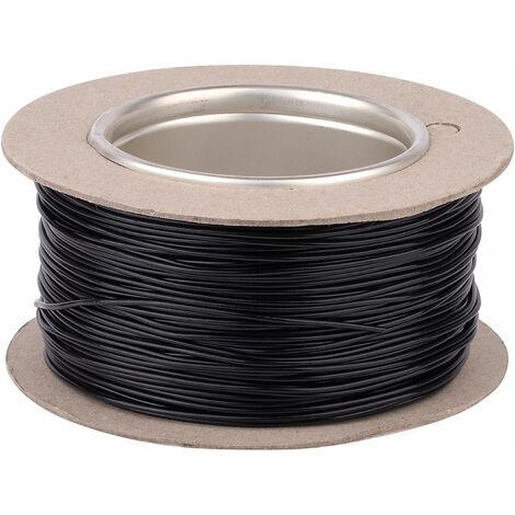 Unistrand 16/0.2 Black Stranded Def Stan 61-12 Part 6 Equipment Wire 100M