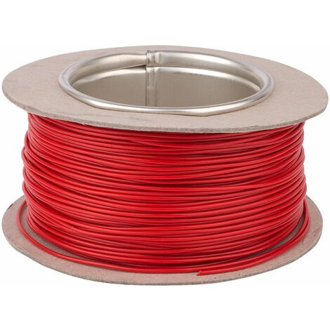 Unistrand 16/0.2 Red Stranded Def Stan 61-12 Part 6 Equipment Wire 100M