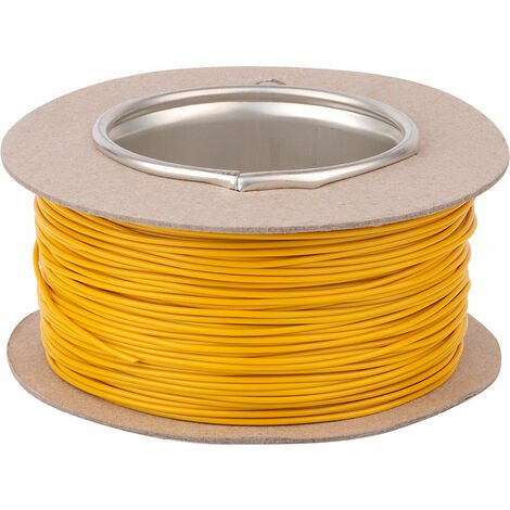 Unistrand 16/0.2 Yellow Stranded Def Stan 61-12 Part 6 Equipment Wire 100M