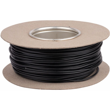 Unistrand 32/0.2 Black Stranded Def Stan 61-12 Part 6 Equipment Wire 100M