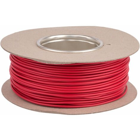 Unistrand 32/0.2 Red Stranded Def Stan 61-12 Part 6 Equipment Wire 100M
