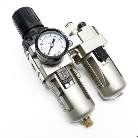 Unità di manutenzione aria compressa Filtro Regolatore pressione Separatore acqua 12,91mm