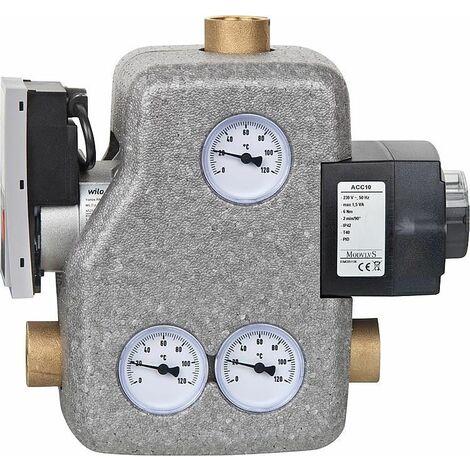 """Unité de chargement combustion Easyflow MCCS, DN25(1""""), régulateur, Wilo Yonos Para RS/7-RKC"""