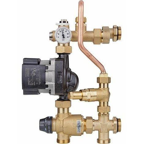 Unite de regulation chauffage au sol, Easyflow Thermo,20-45°C Grundfos UPM3 Hybride 15-70