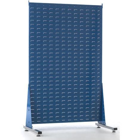 Unité de stockage de panneaux à persiennes RS PRO Bleu en PP, 1500mm x 1000mm x 500mm