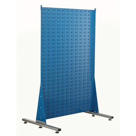 Unité de stockage de panneaux à persiennes RS PRO Bleu en PP, 1500mm x 1000mm x 750mm